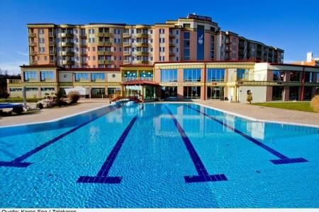 Hotel Karos Spa V Zalakaros - v červenci