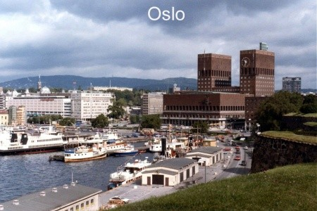 Turistika v Norsku, stezkou svatého Olafa - v červenci