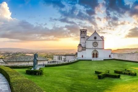 Potulky Umbriou, Gubbio, Arezzo, Assisi, Civita di Bagnoregi - Last Minute a dovolená