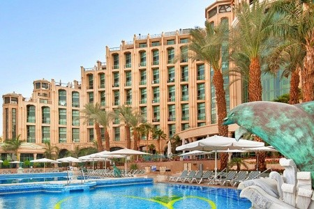 Hilton - Queen Of Shebba, Eilat, Rudé Moře Snídaně