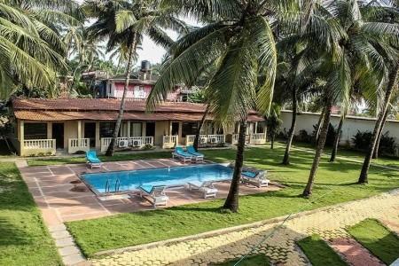 Morjim Coco Palms Resort Snídaně
