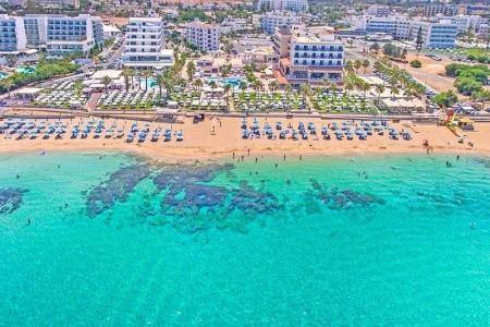 Vrissiana Beach Hotel - Kypr letecky z Bratislavy All Inclusive - slevy