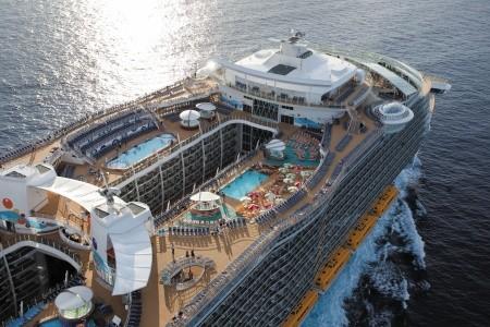 Usa, Bahamy Z Cape Liberty Na Lodi Oasis Of The Seas - 393961290