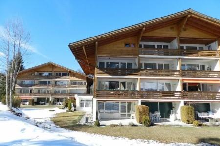 La Sarine 20 - Švýcarsko v únoru - dovolená
