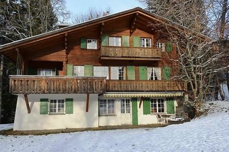 Les Erables, Chalet - Švýcarsko v prosinci