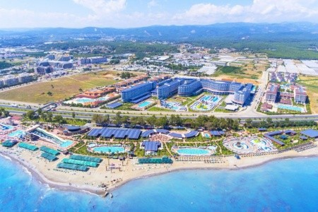Eftalia Ocean Resort, Turecko, Alanya