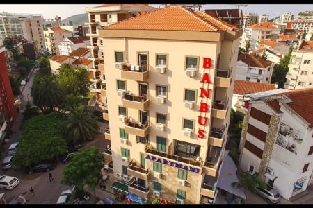 Hotel Ban-Bus Budva Club, Černá Hora, Budva