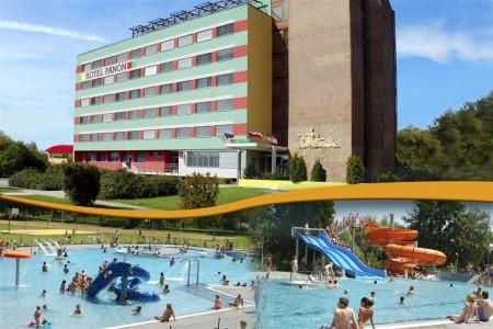 Hodonín - Hotel Panon - v srpnu