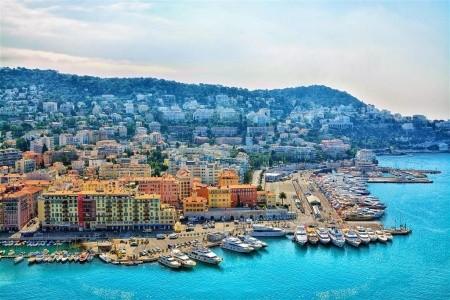 Francouzská riviéra - Nice, Fréjus, Saint Tropéz a Cannes - autobusem