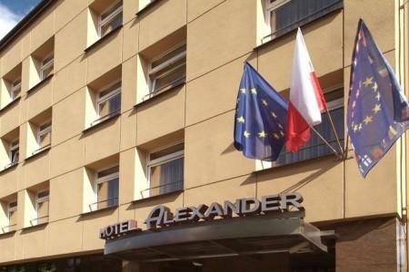 Hotel Alexander Snídaně
