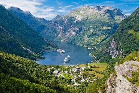 To nejlepší ze západního Norska + OSLO (letecky z  - hotel
