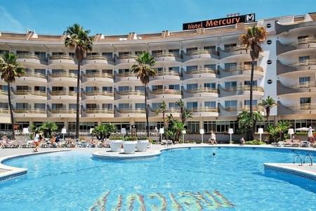 Hotel Mercury, Španělsko, Costa Brava