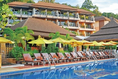 Hotel Aonang Cliff Beach Resort, Thajsko, Krabi