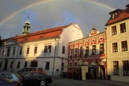 Kroměříž - Hotel Excellent - snídaně