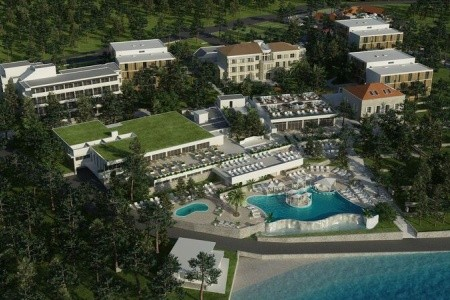 Hotel Port 9 (Ex Bon Repos), Ostrov Korčula - Korčula - autem