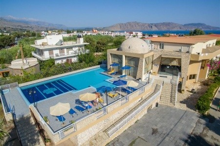 Kavros Beach Hotel, Řecko, Kréta