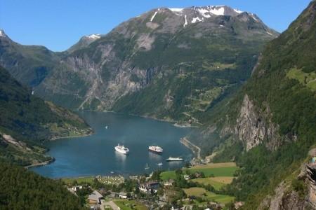 Norské fjordy a skandinávské metropole Bez stravy