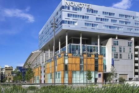 Novotel Lyon Confluence - letecky