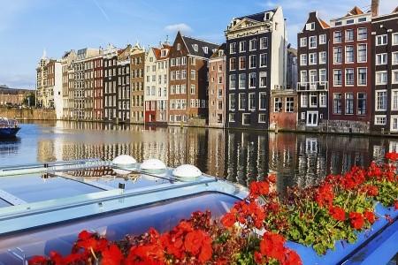 To nejlepší z Amsterdamu + ZAANSE SCHANS (letecky  Snídaně