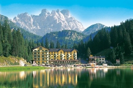 Grand Hotel Misurina, Itálie, Cortina d´Ampezzo