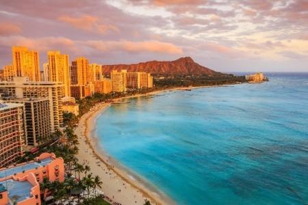 USA západ a Havaj