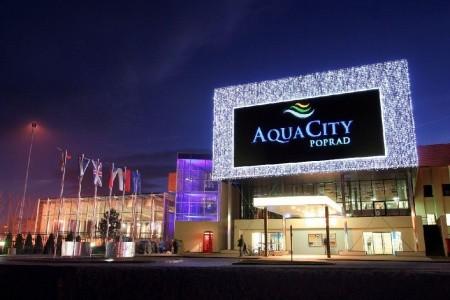 Aquacity Poprad - v lednu