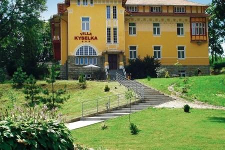 Lázně Mšené Villa Kyselka - Léčebný Program 50+