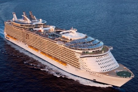 Usa, Mexiko, Honduras Na Lodi Allure Of The Seas - 393859642