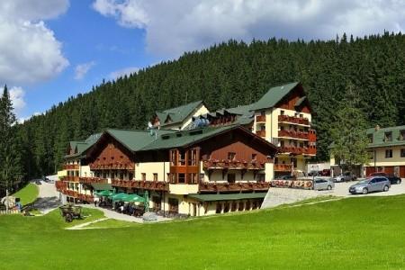 Ski & Wellness Residence Družba - v lednu