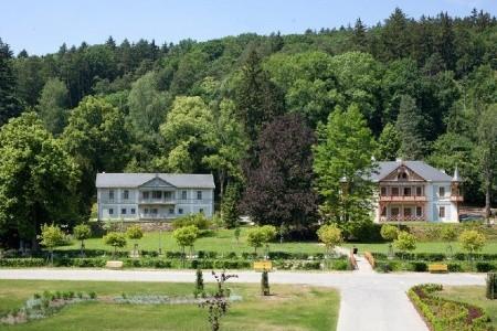 Hotel Vila Alpská Růže - Vily v Luhačovicích