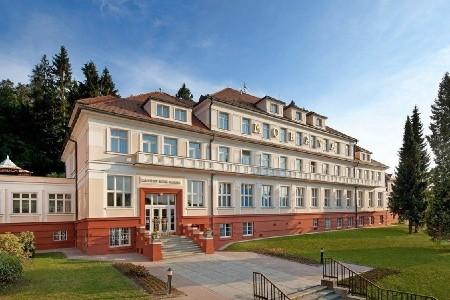 Hotel Morava Luhačovice - v březnu