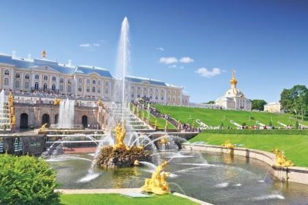 Kouzelný Petrohrad s výletem na ostrov Kotlin