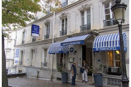 Timhotel Montmartre - letecky