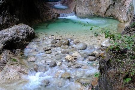 Solné doly v Berchtesgadenu a soutěska Almbachklam Bez stravy