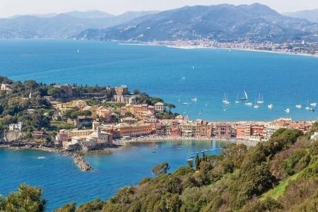 Nejlevnější Ligurská riviéra - Itálie