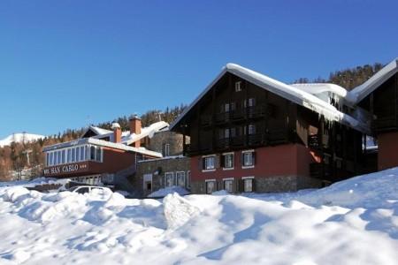 Hotel Alpen Village S Bazénem Tbo– Livigno, Itálie, Alta Valtellina