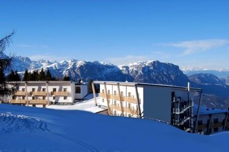 Hotel Le Blanc S Bazénem Pig- Monte Bondone - v lednu