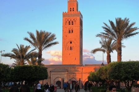 Velký okruh Marokem - letecky - letecky