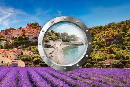 Provence s koupáním u moře - poznávací zájezdy