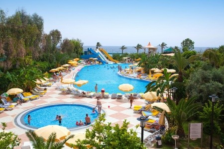 Stella Beach Hotel Alanya, Turecko, Turecká riviéra