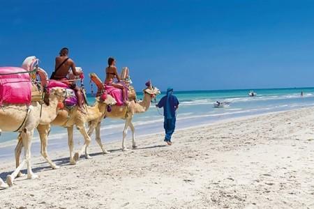 Checkin Djerba Bakour Beach Hotel - Tunisko  s plnou penzí