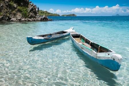 Ostrovy Bali a Komodo a Flores