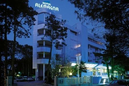 Hotel Alemagna S Bazénem Pig- Bibione Lido Del Sole - Bibione  - Itálie