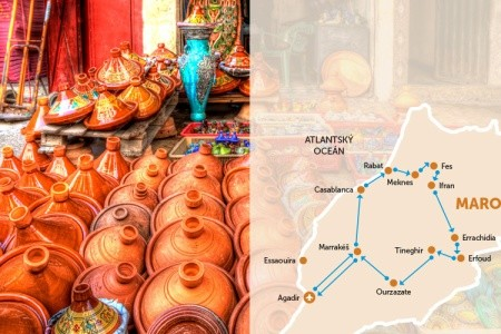 Velký Okruh Marokem - Last Minute a dovolená