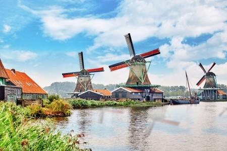 Do Amsterdamu, Zaanse Schans a Delftu za sýrem a p Snídaně