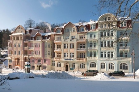 Jáchymov - Hotel Astoria - v listopadu
