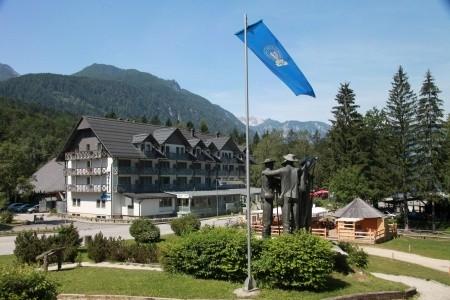 Hotel Jezero Bohinj - v dubnu