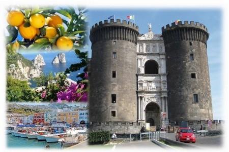 Neapolský záliv letecky - v říjnu