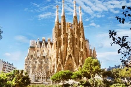 Barcelona letecky - Španělsko v dubnu