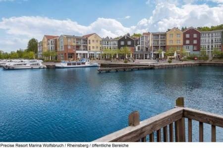 Precise Resort Marina Wolfsbruch - Last Minute a dovolená